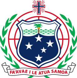 Image of the Samoan coat of arms