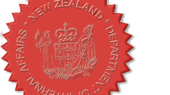 Seal of the Department of Internal Affairs of New Zealand