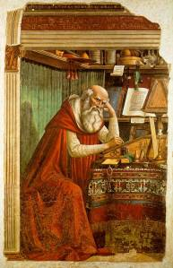 Portrait of St Jerome in his study