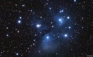 Picture of the Matariki constellation