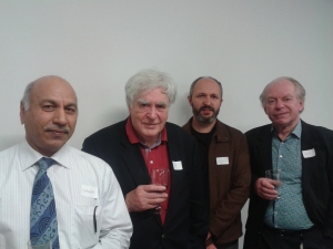 Picture of Surinder, John, Giovanni and Bill