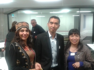 Picture of Sevana, Vincent and Sanying
