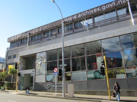 Picture of the Archives New Zealand building
