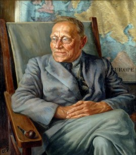 Portrait of Professor von Zedlitz