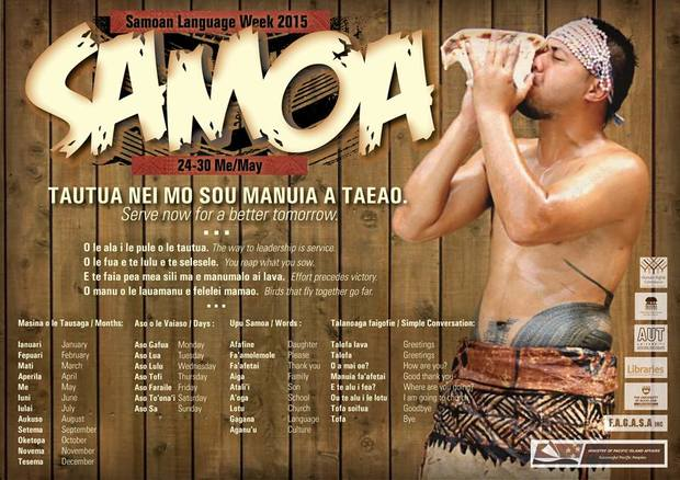 Poster of Samoan Language Week 2015