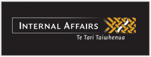 Logo of the Department of Internal Affairs